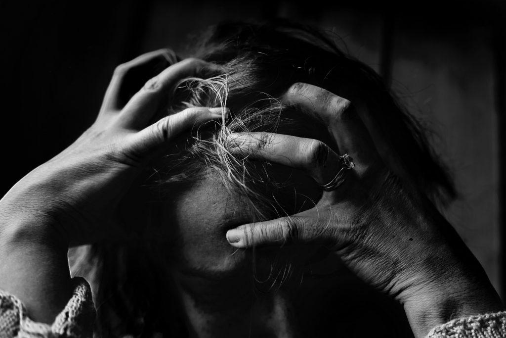 Cognitive Behavioral Therapy - black & white image